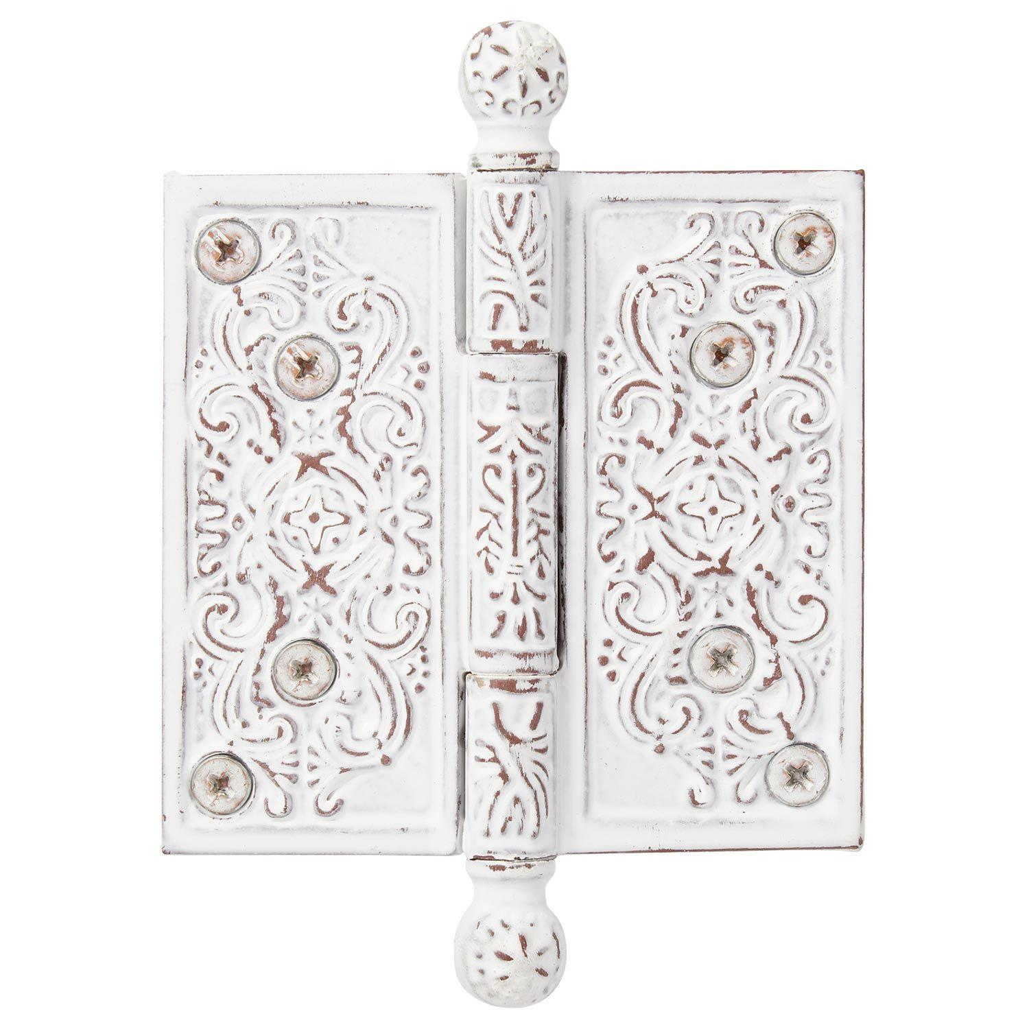 Antique Pattern Hinge Black American Style 85mm Cold Rolled Steel Decorative Door and Window Hinge Suitable for Doors and Windows Cabinets