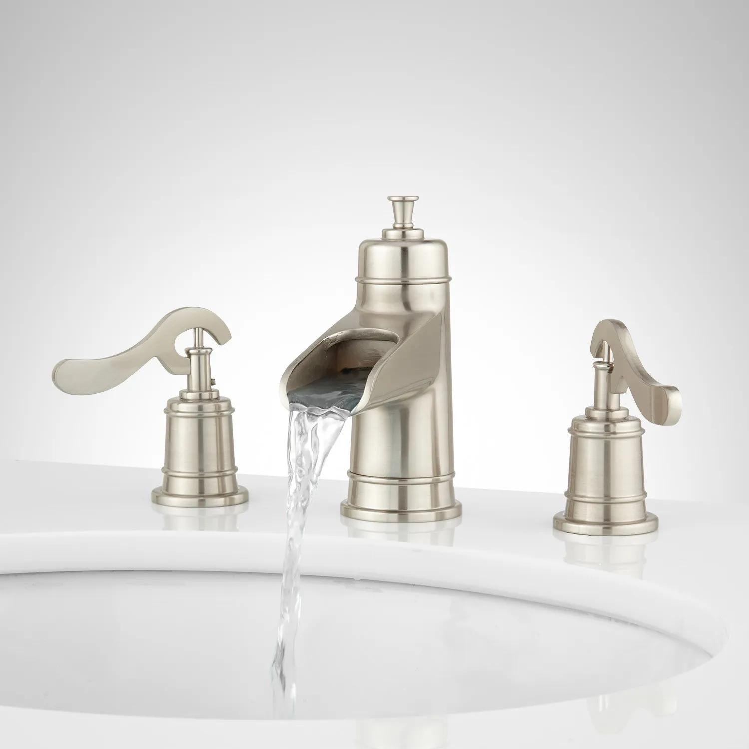 Melton Widespread Waterfall Bathroom Faucet - Bathroom