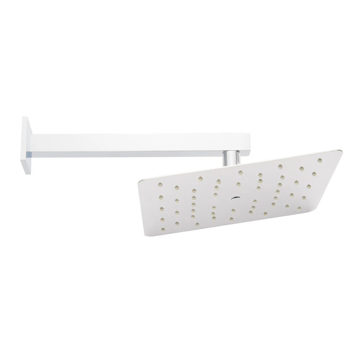 Square Shower Arm Cover Plate//Back Plate With Round Hole