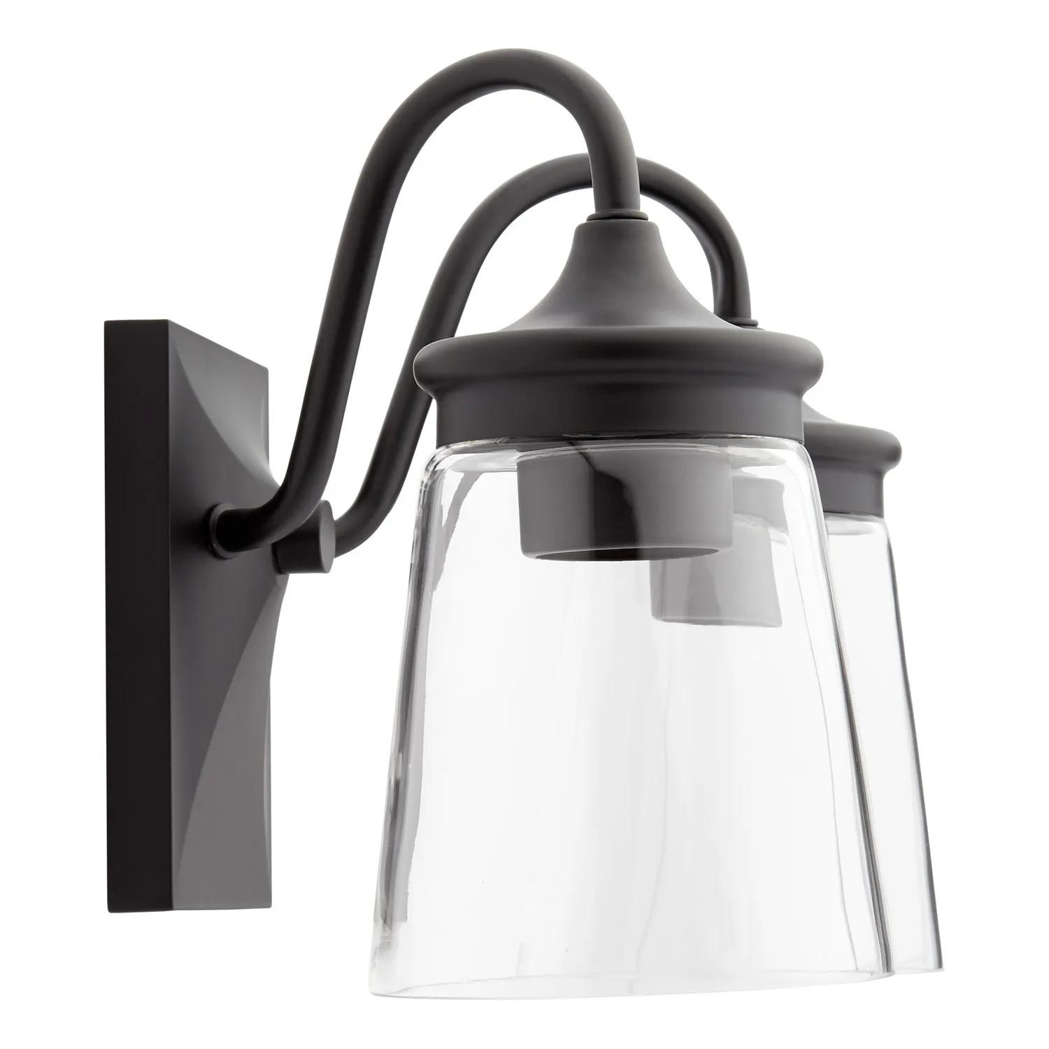 La Maida 2 Light Vanity Light Matte Black Bathroom Vanity Lighting Lighting