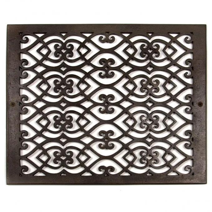 Oversized Victorian Bronze Wall Air Return