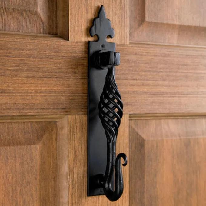 Crauswell Hand-Forged Iron Door Knocker