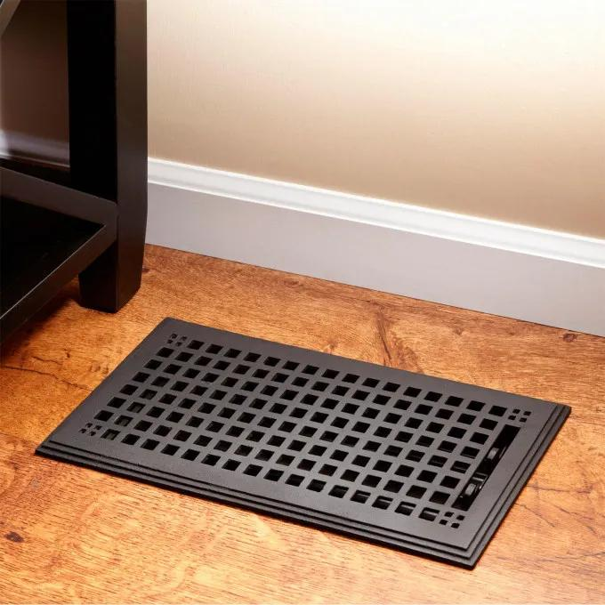 Mission Cast Iron Floor Register