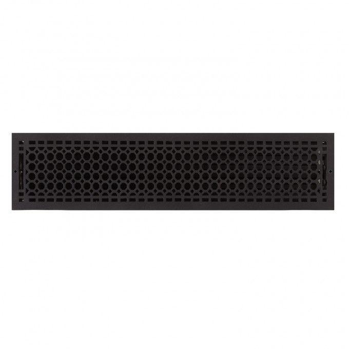 """Oversized Honeycomb Wall Register - 6"""" x 30"""" (7"""" x 30-5/8"""" Overall)"""