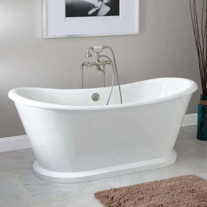 Durham Bateau Cast Iron Skirted Tub