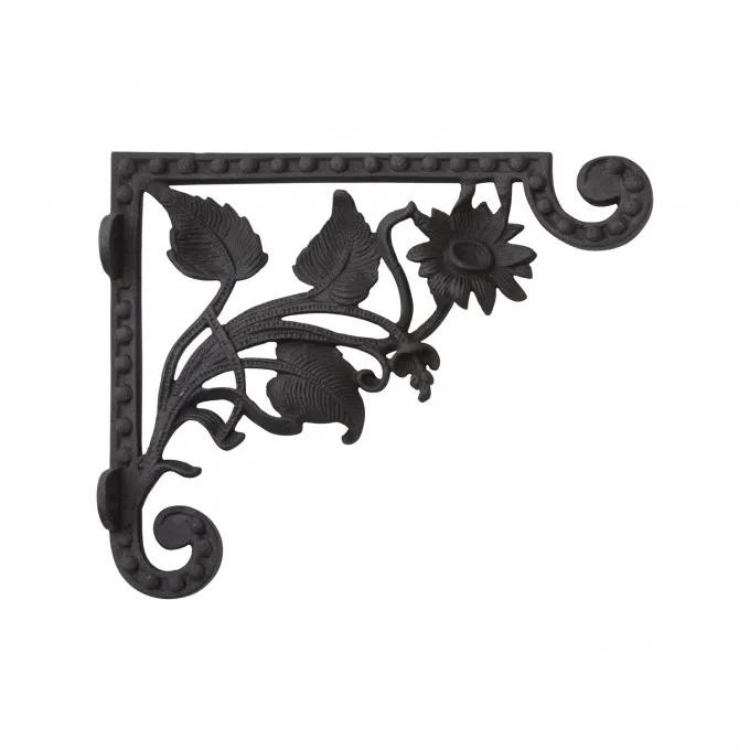 Wild Daisy Cast Iron Shelf Bracket