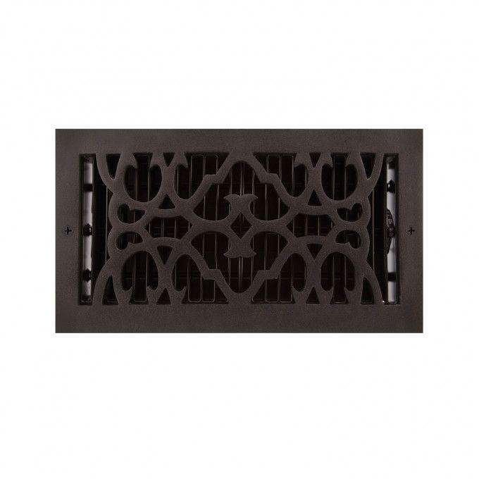 Traditional Cast Iron Wall Register