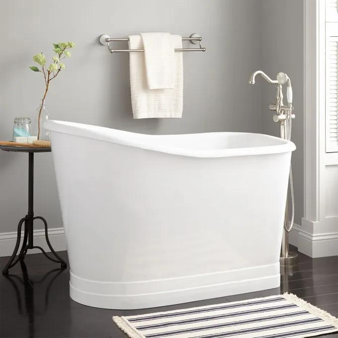 "52"" Winton Cast Iron Skirted Slipper Tub"