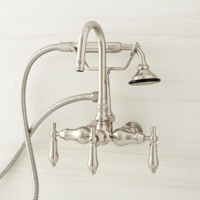 Pasaia Tub Faucet with Hand Shower - Lever Handles