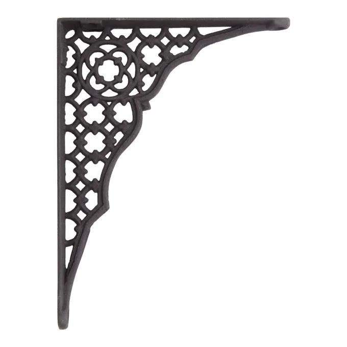 Wicker Cast Iron Shelf Bracket