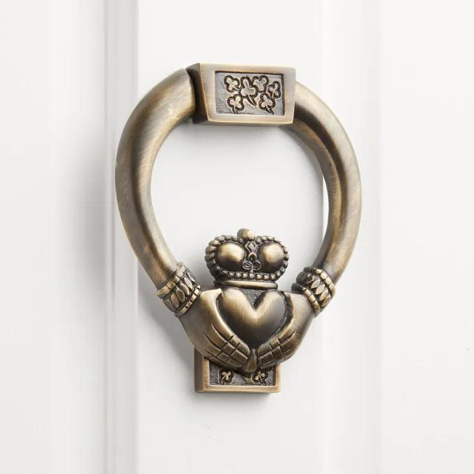 Claddagh Brass Door Knocker