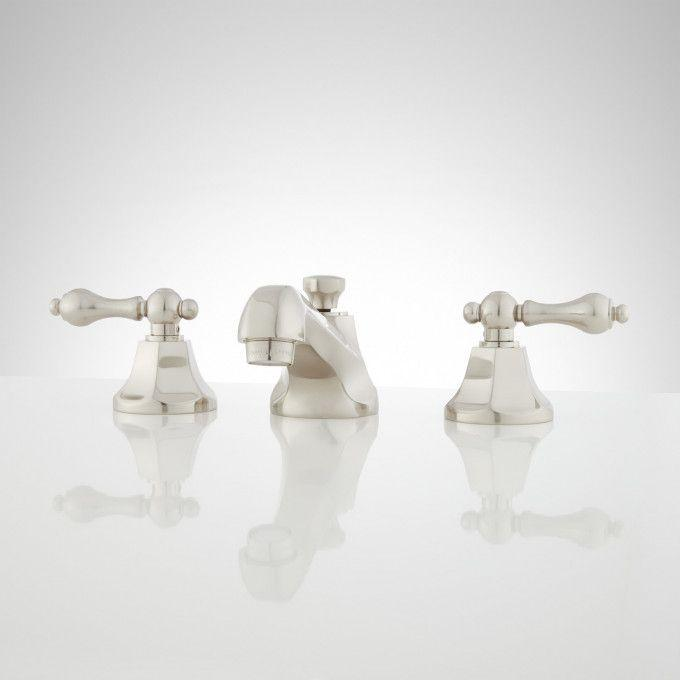 New York Widespread Bathroom Faucet - Lever Handles