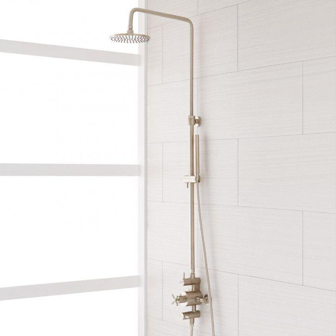 Exira Thermostatic Shower With Hand Shower