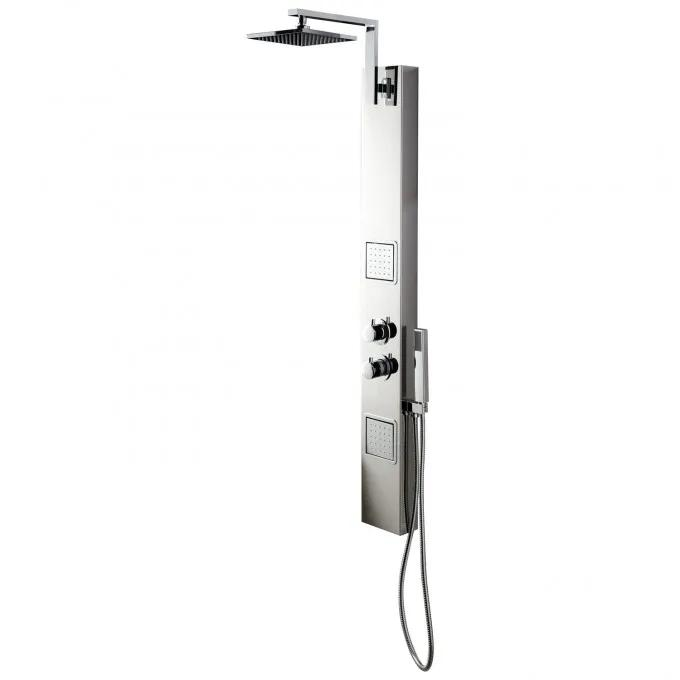 Zoula Thermostatic Stainless Steel Shower Panel