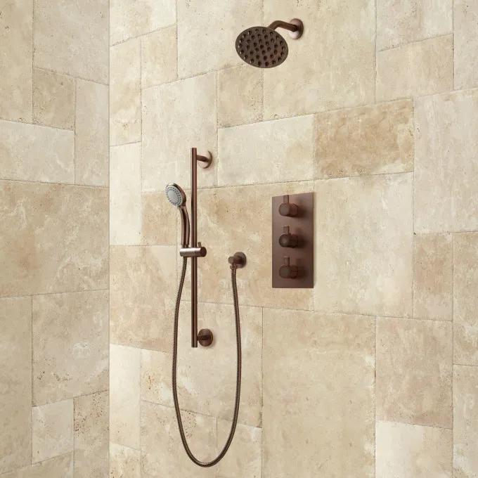 Isola Shower System - Oil Rubbed Bronze