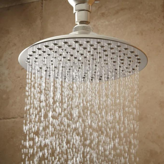 Bostonian Rainfall Shower Head with S-Type Shower Arm