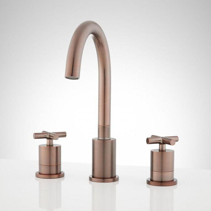 Exira Widespread Bathroom Faucet - Oil Rubbed Bronze - Front