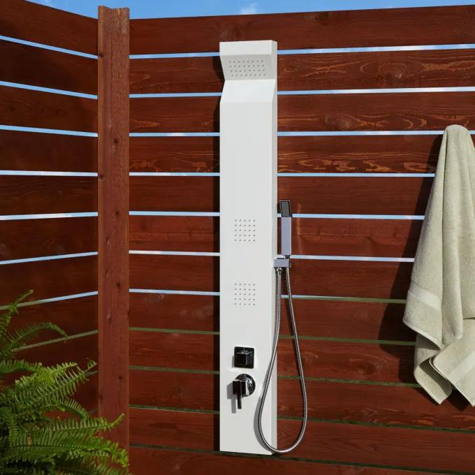 Richardson Two-Jet Outdoor Shower Panel With Hand Shower