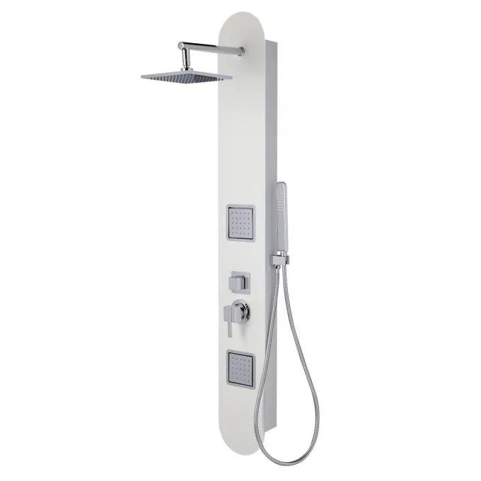 Marcos Two-Jet Shower Panel With Hand Shower