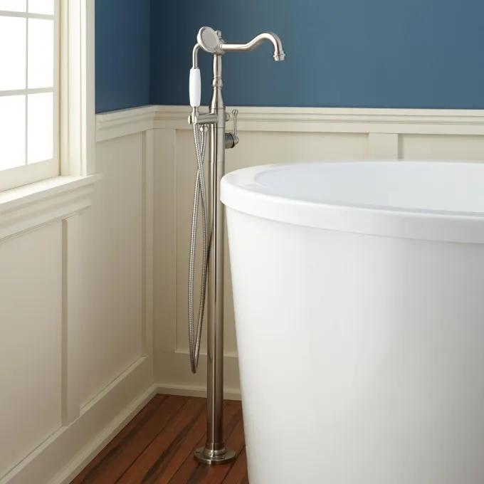 Sidonie Freestanding Tub Faucet with Hand Shower