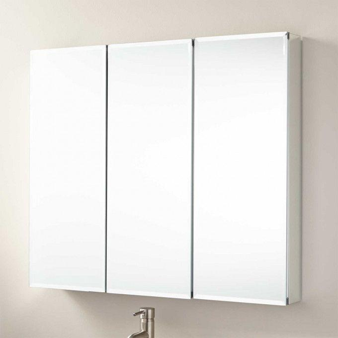 """36"""" Longview Surface Mount Medicine Cabinet with Mirror"""