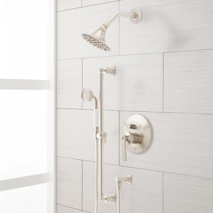 Cooper Shower System with Hand Shower