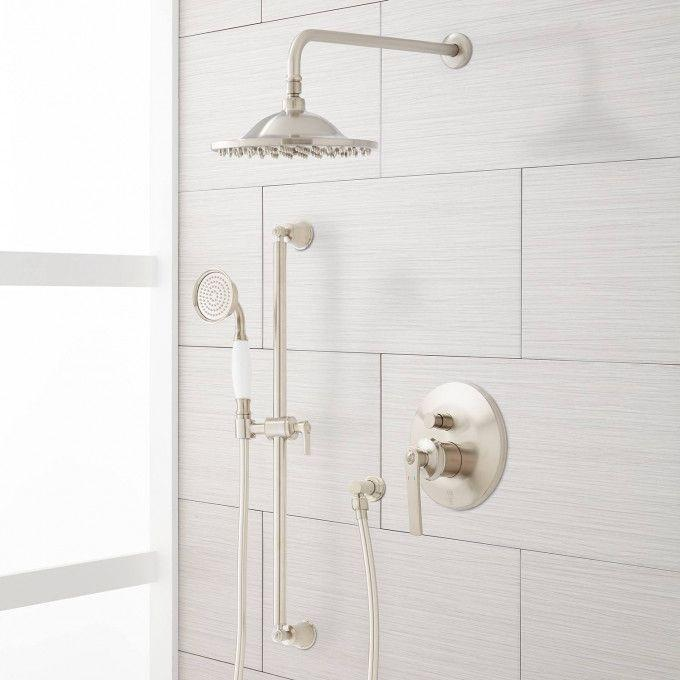 Cooper Shower System with Rainfall Shower and Hand Shower