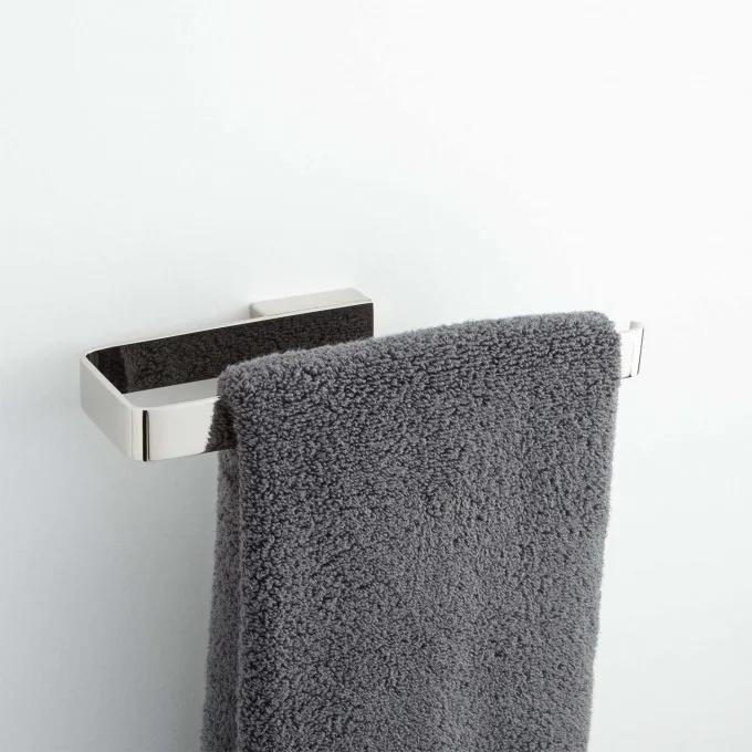 Newberry Towel Ring - Polished Nickel