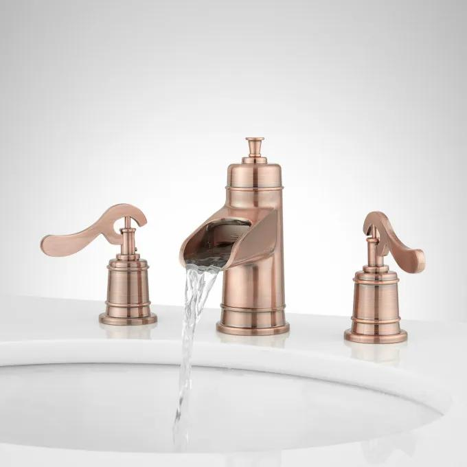 Melton Widespread Waterfall Bathroom Faucet
