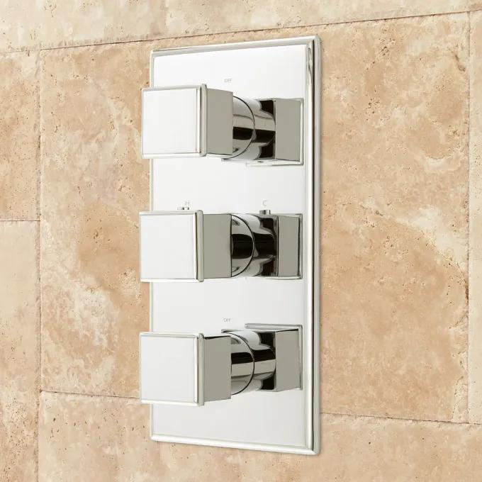 Thermostatic Valve - Chrome