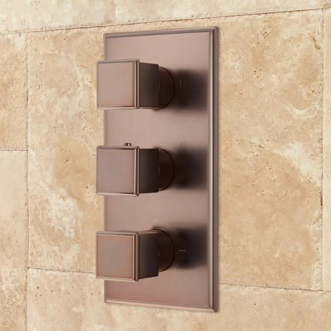Thermostatic Valve - Oil Rubbed Bronze