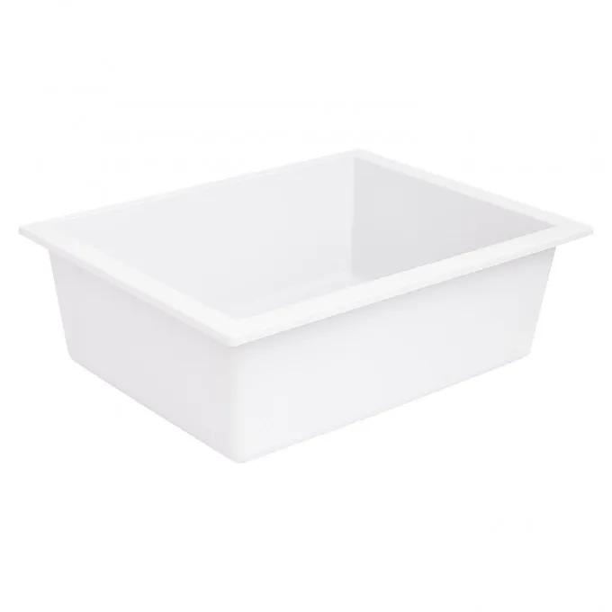 "22"" Holcomb Undermount Granite Composite Sink - Cloud White"