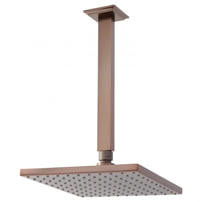 Ceiling-Mount Rainfall Shower Head - Oil Rubbed Bronze