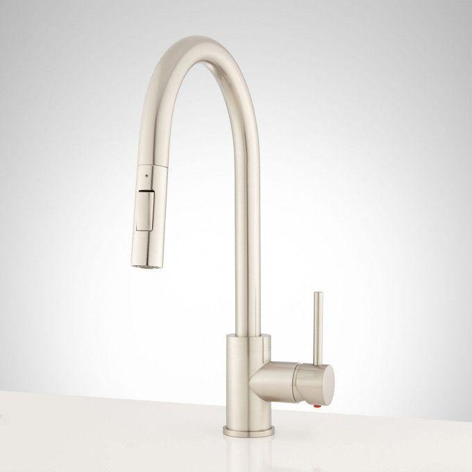 Bocard Single-Hole Pull-Down Kitchen Faucet