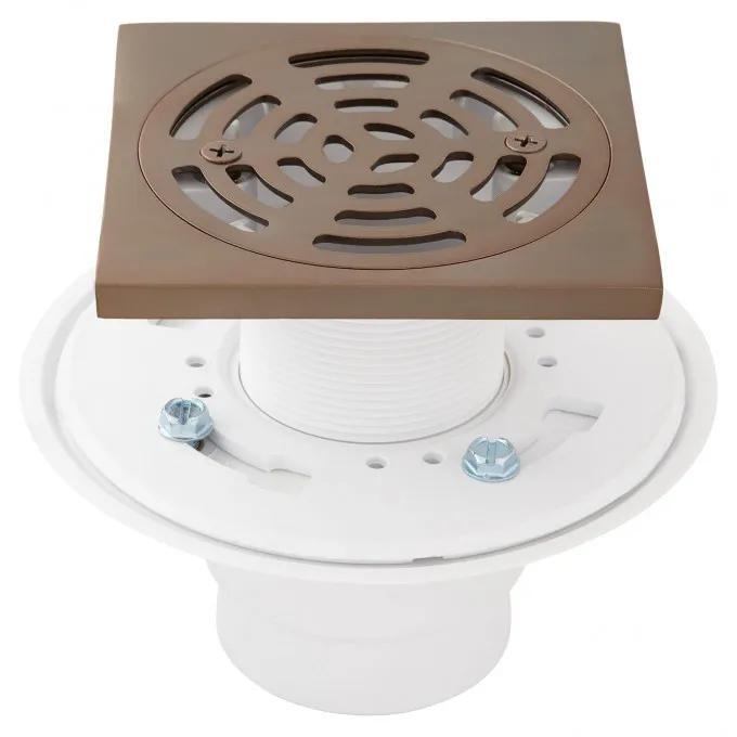 Drain Strainer and Flange - Oil Rubbed Bronze
