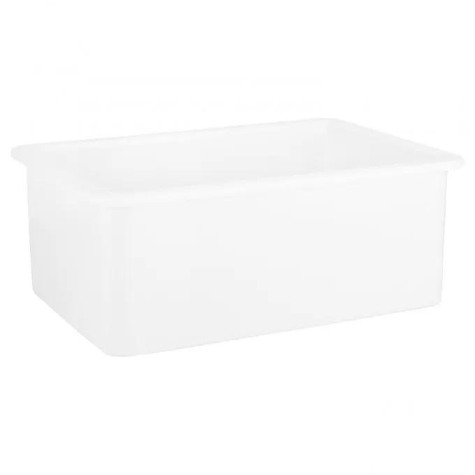 "27"" Derin Undermount Fireclay Sink - White"