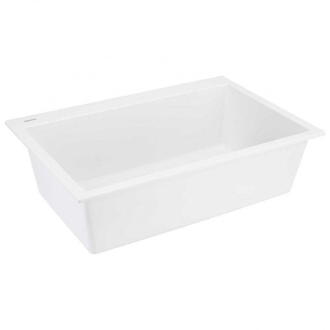 "33"" Algren Undermount Granite Composite Sink - Cloud White"