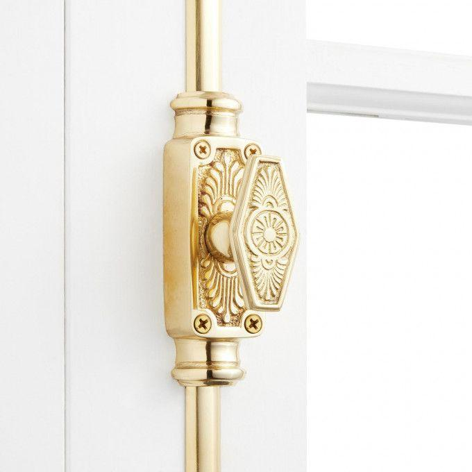 Window Cremone Bolt 6' Polished Lacquered