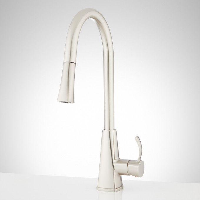 Rhine Single-Hole Pull-Down Kitchen Faucet