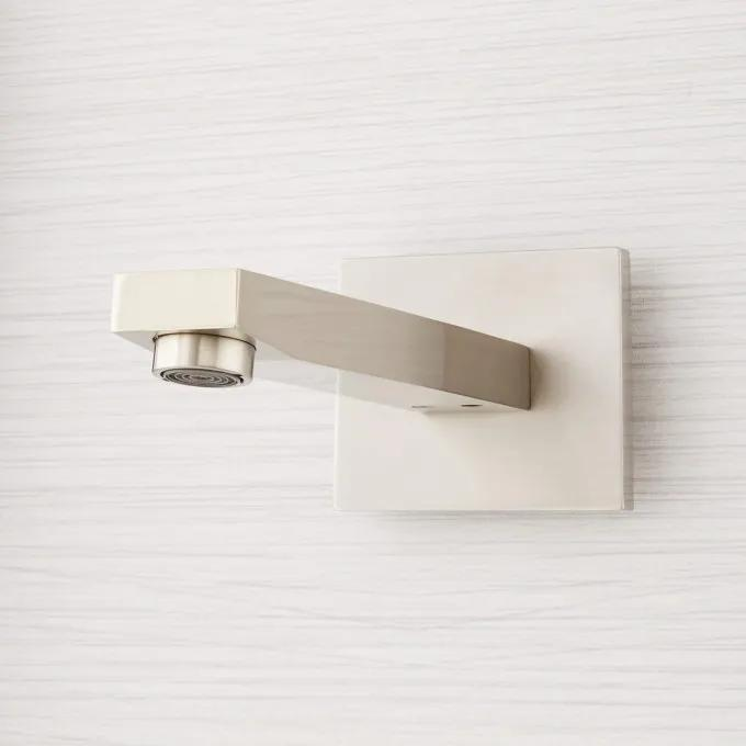 Brushed Nickel - Spout