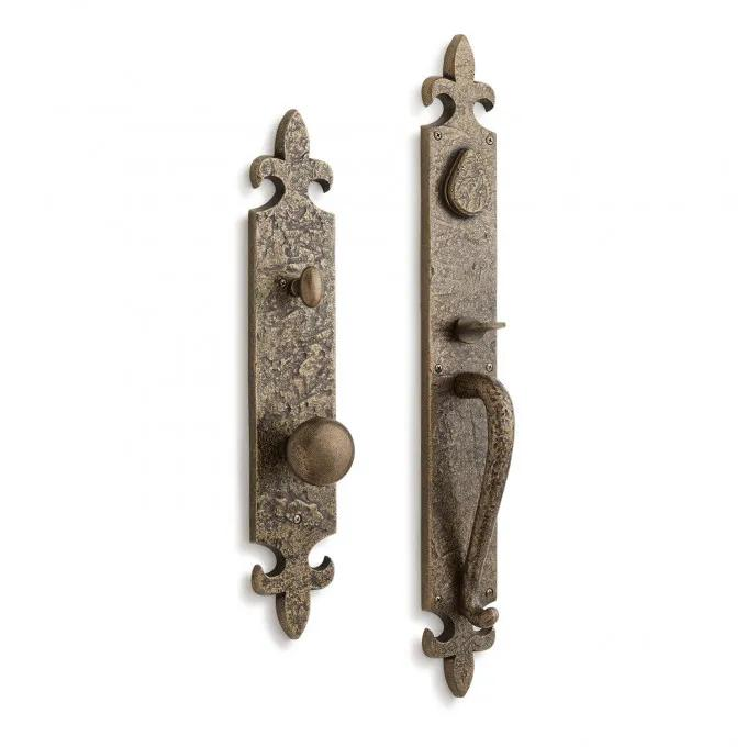 Cousteau Solid Brass Entrance Door Set with Knob