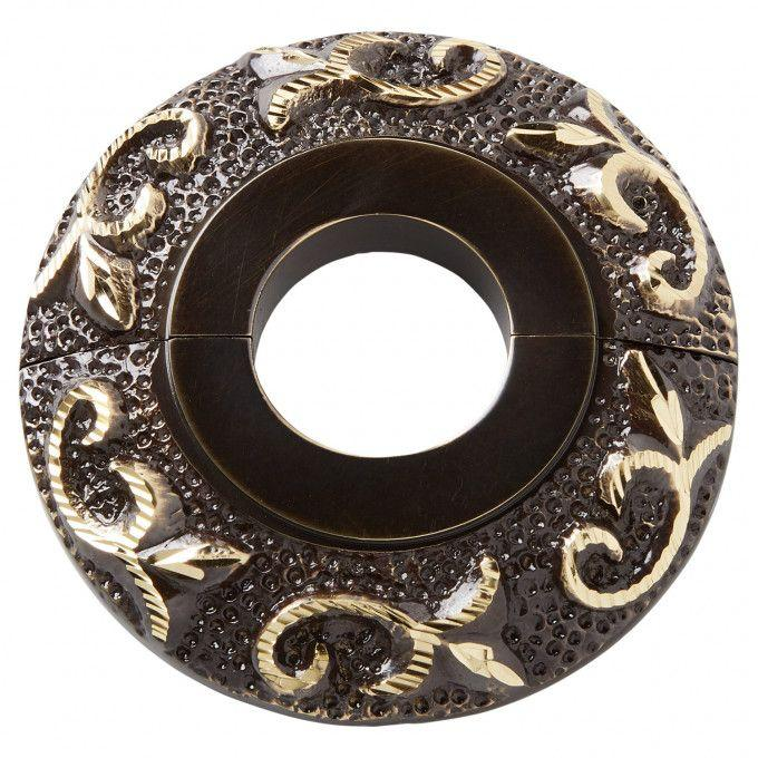 Oil Rubbed Bronze/Polished Brass