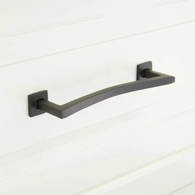Arvo Solid Brass Contemporary Cabinet Pull