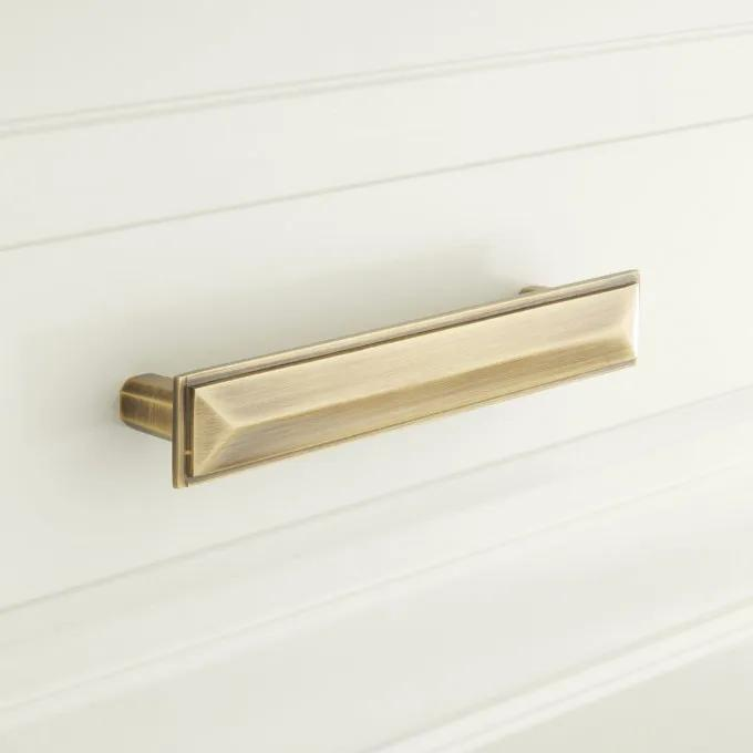 Bresnick Solid Brass Cabinet Pull