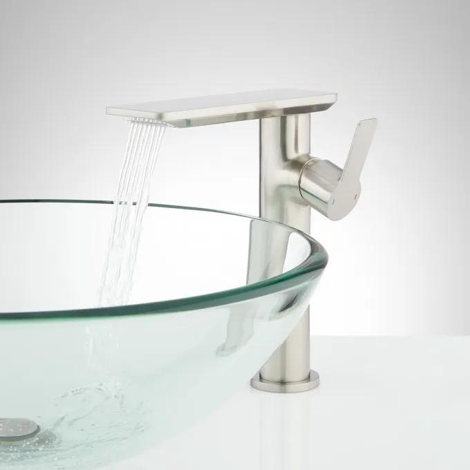 Hollyn Single-Hole Vessel Faucet with Pop-Up Drain