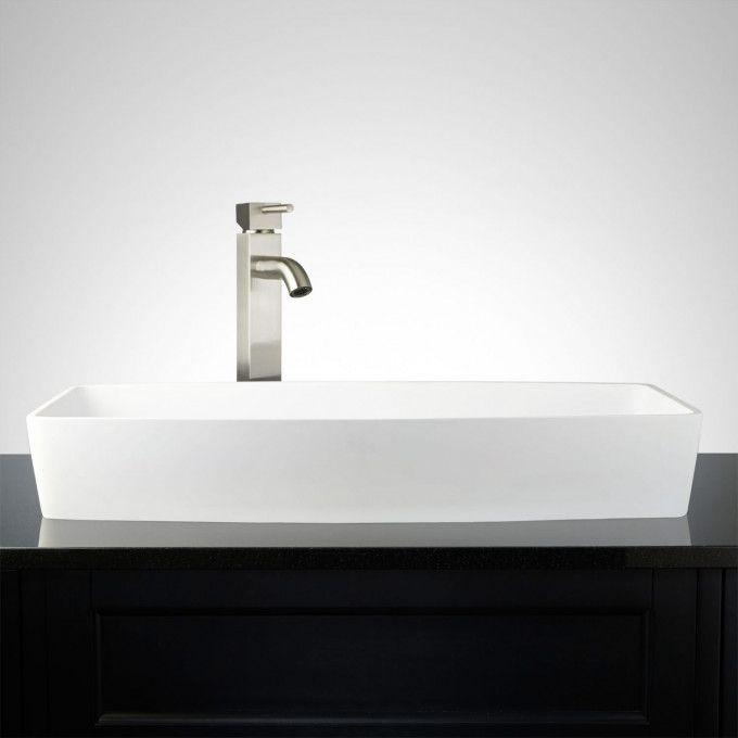 Markab Matte Resin Vessel Sink
