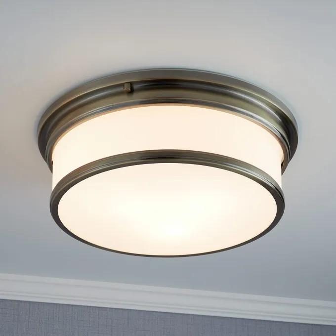 3-Light Flush Mount Ceiling Fixture