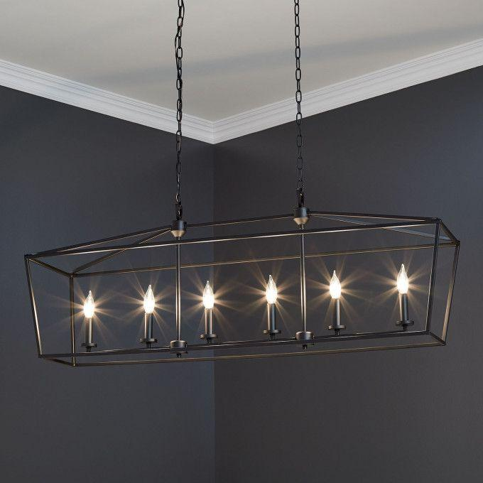 Hillpoint 6-Light Linear Chandelier