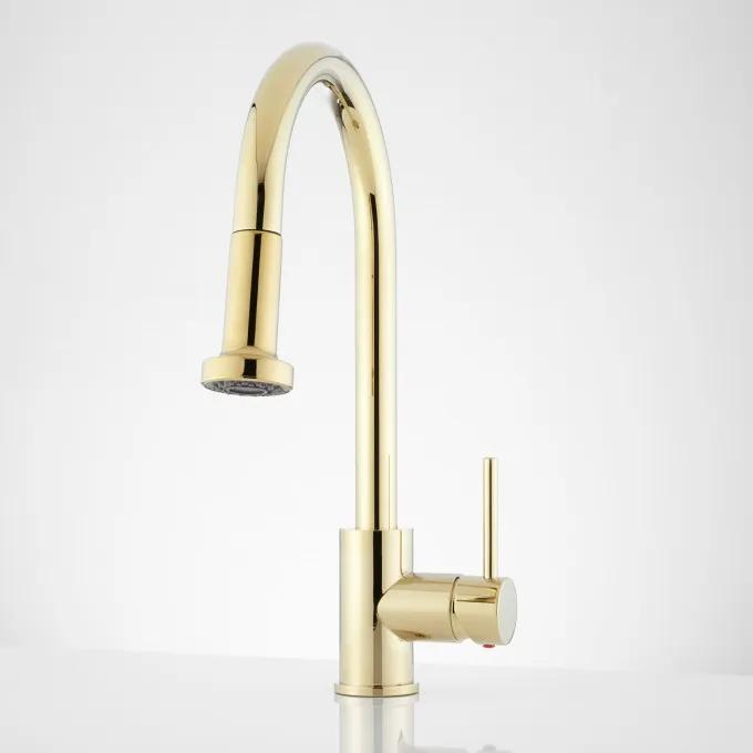 Front - Polished Brass