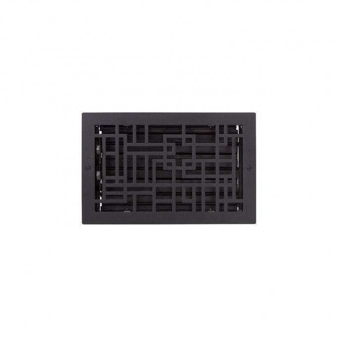 Baer Steel Wall Register - Black